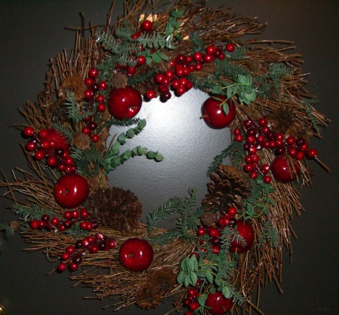 i got that wreath a few years ago from michaels where you can find some sweet deals on christmas decorations fyi and my neighbours still comment on it - Michaels Christmas Wreaths